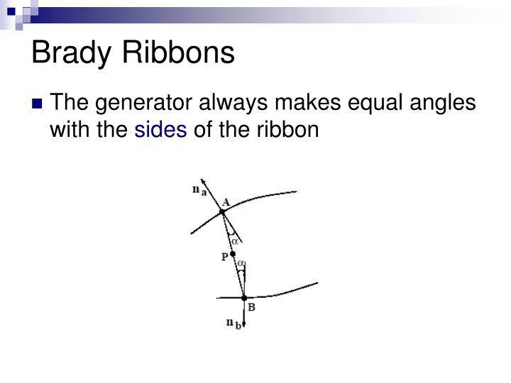 Brady Ribbons