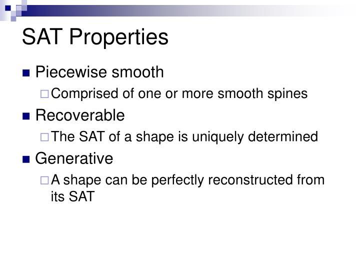 SAT Properties