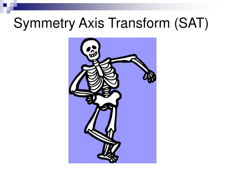 Symmetry Axis Transform (SAT)