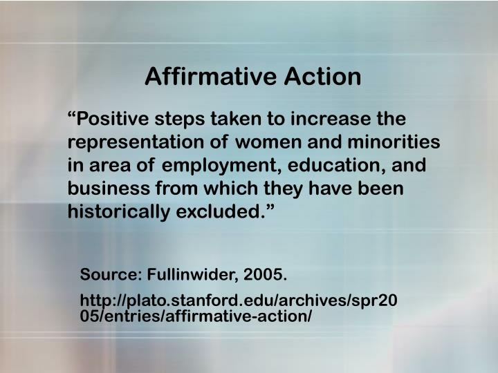 understanding the benefits of affirmative action to society Here are the advantages and disadvantages of affirmative action to consider benefit from the diversity that affirmative in our current society.