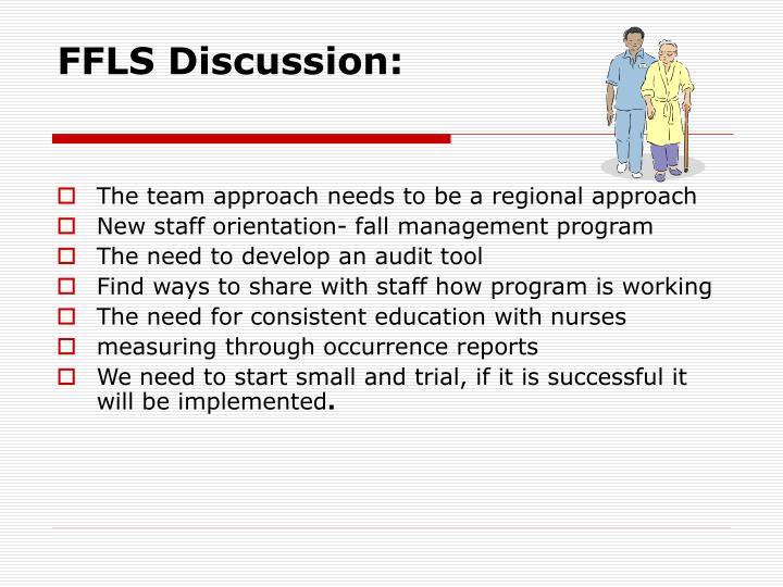 FFLS Discussion: