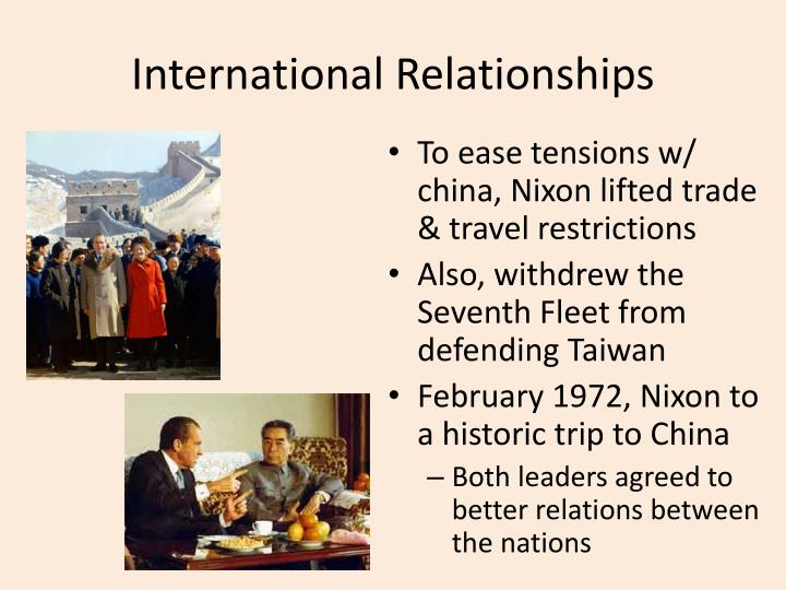 an analysis of the historic trip to china bu the american president nixon on february 1972 William f buckley jr on richard nixon's trip to china  historic trip to china,  and originally appeared in the march 17, 1972 issue  of relations between  china and the us and richard nixon, by his  somehow the generic  incantation, which used instantly to collapse such analyses — mussolini made.