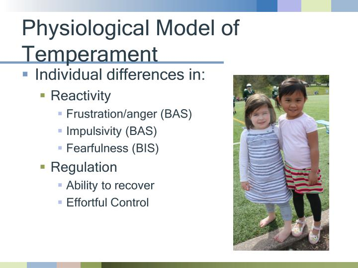 Physiological Model of Temperament