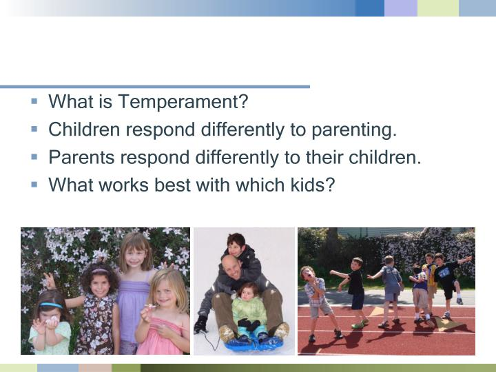 What is Temperament?