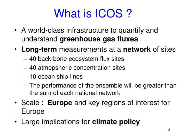 What is icos