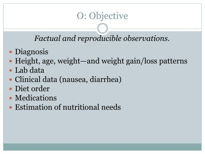 O: Objective