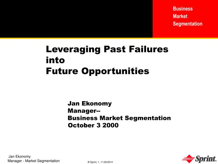 Leveraging Past Failures