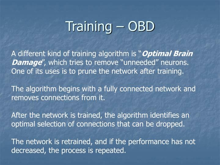 Training – OBD