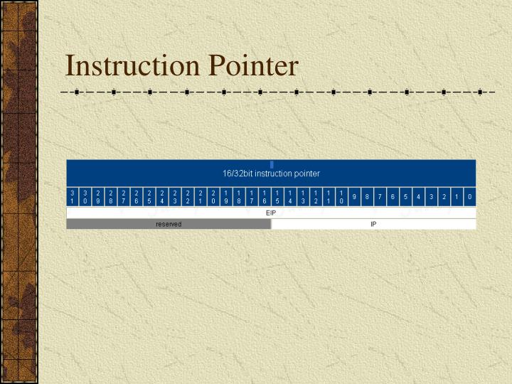 Instruction Pointer