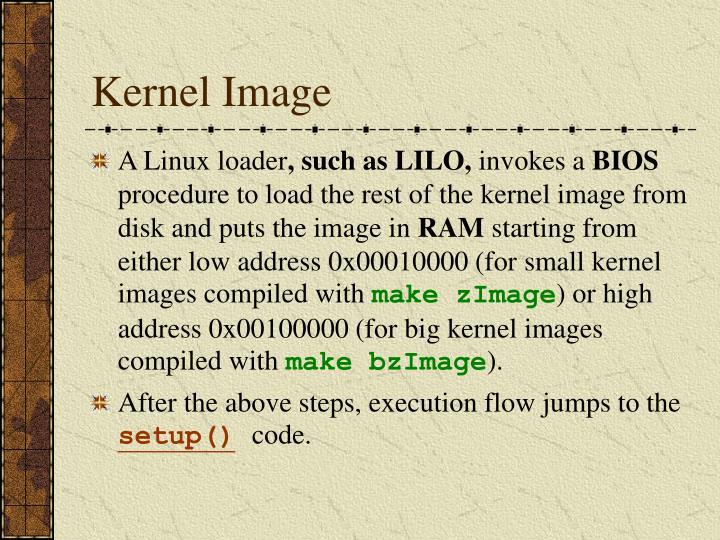 Kernel Image