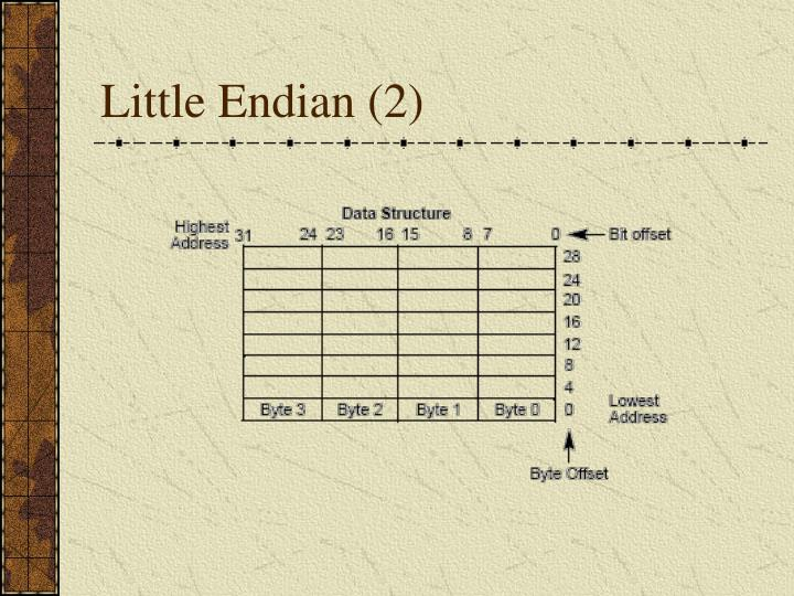 Little Endian (2)