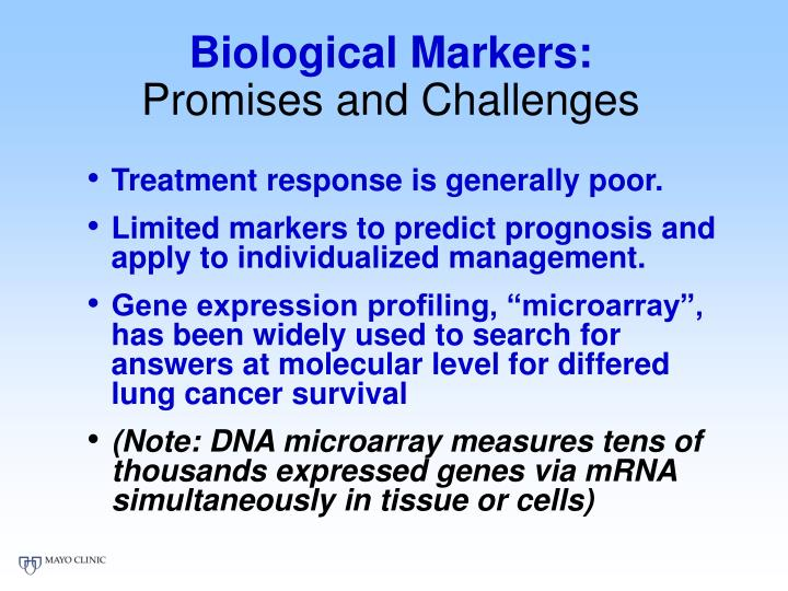 Biological Markers: