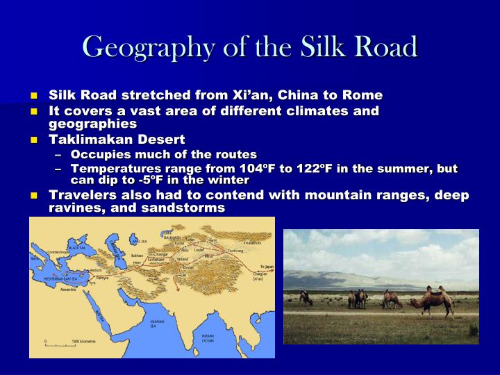 Geography of the Silk Road