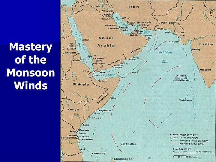 Mastery of the Monsoon Winds
