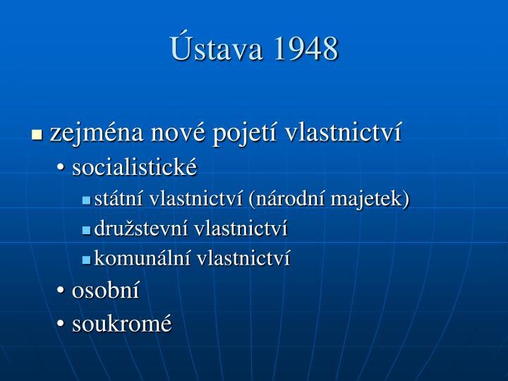 Ústava 1948