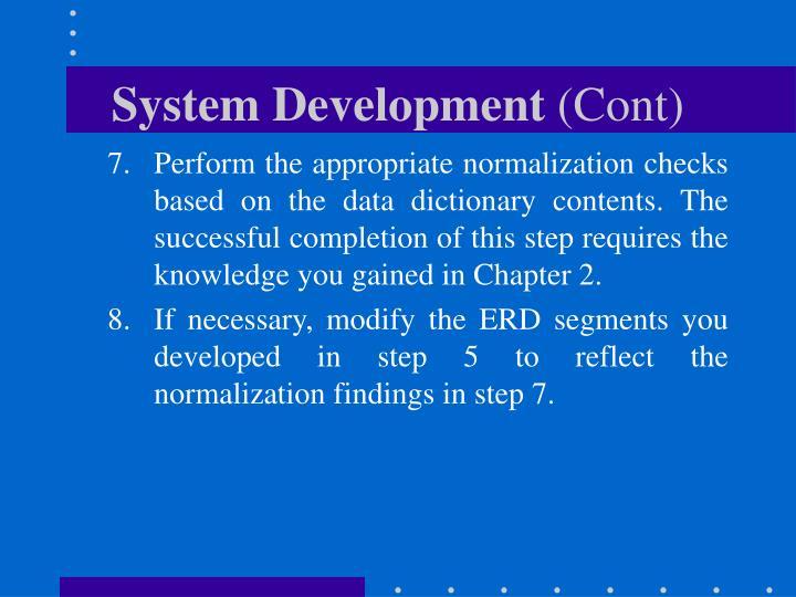 System Development