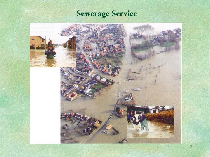 Sewerage Service