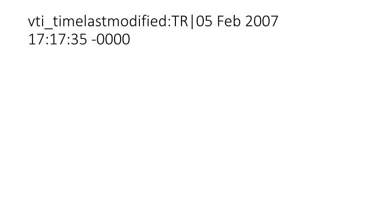 Vti timelastmodified tr 05 feb 2007 17 17 35 0000