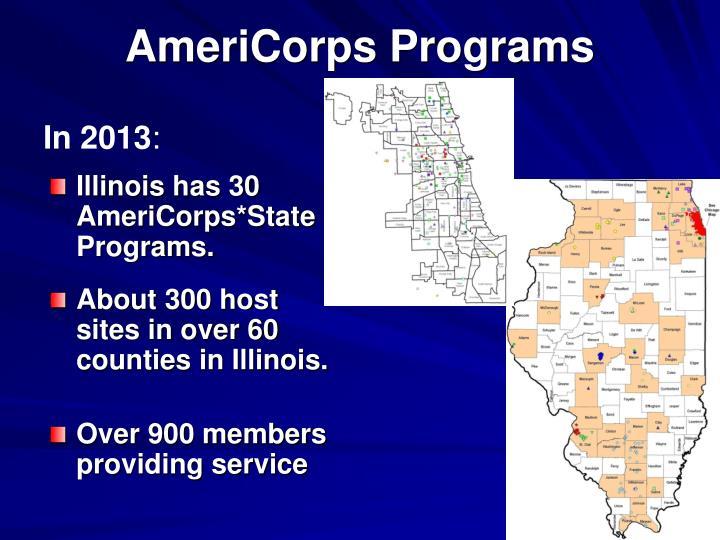 AmeriCorps Programs