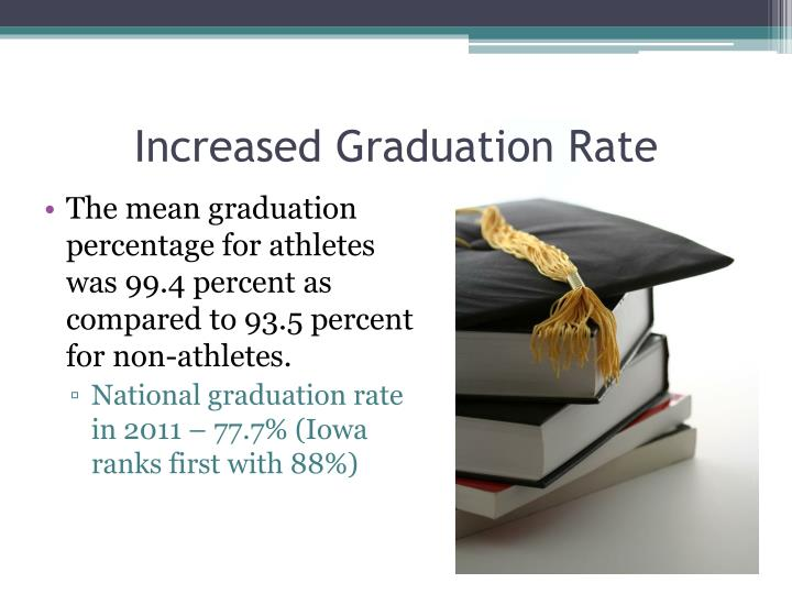 Increased Graduation Rate