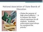 national association of state boards of education