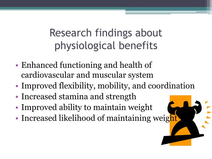 Research findings about