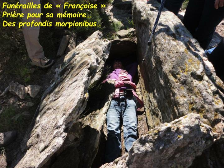 Funérailles de « Françoise »
