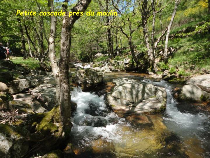 Petite cascade prés du moulin
