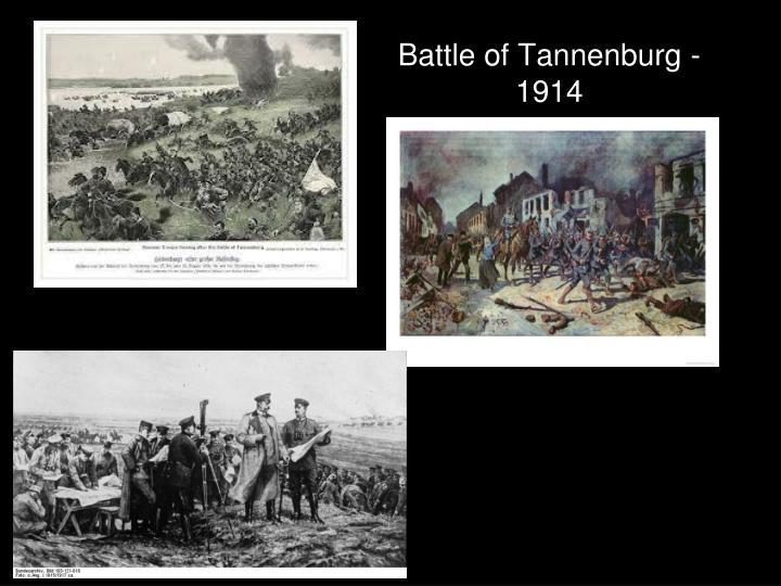 Battle of Tannenburg - 1914