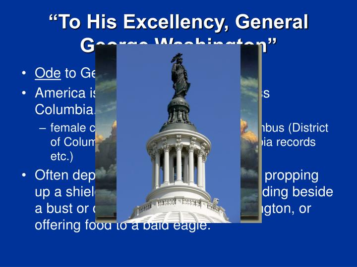 """To His Excellency, General George Washington"""