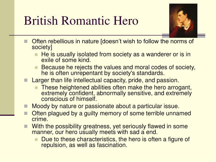 British Romantic Hero