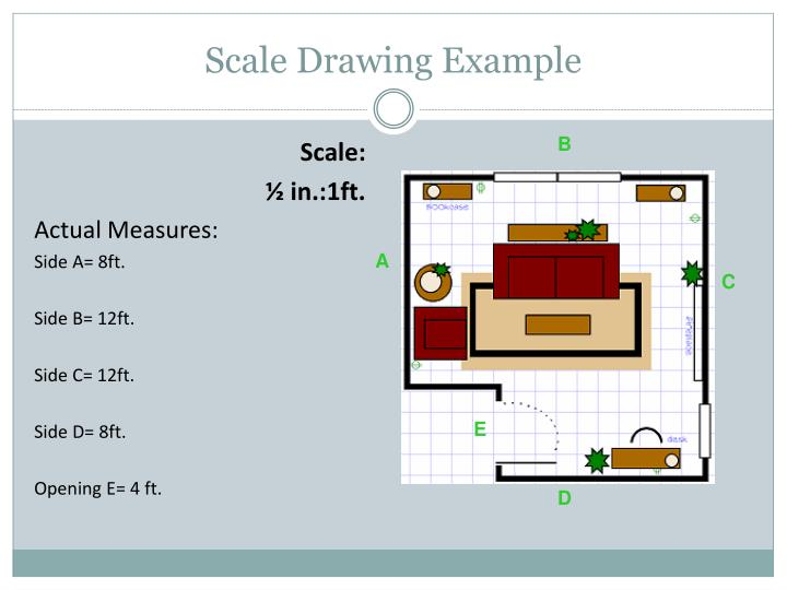 Scale Drawing Example