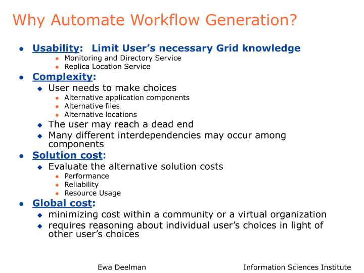 Why Automate Workflow Generation?