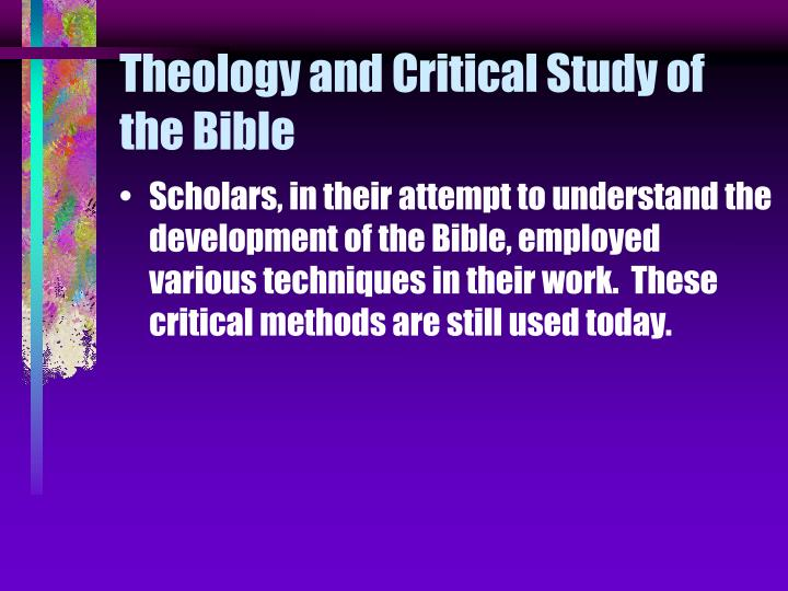 literary criticism and study material Welcome to literary criticism, a relatively new, yet important, method of biblical study literary criticism makes use of many modern tools in analyzing literature and applies these to the bible, one of the most awesome pieces of literature ever written.