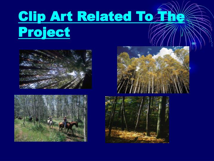 Clip Art Related To The Project