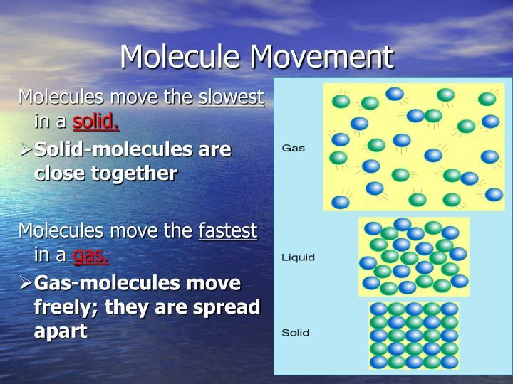 Molecule Movement