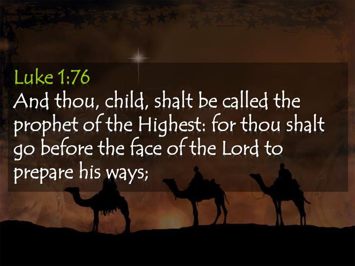 Luke 1:76