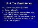 17 1 the fossil record3