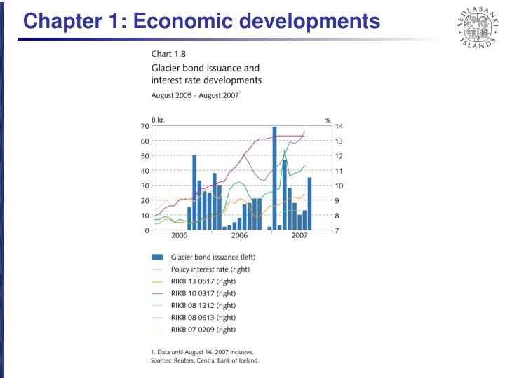 Chapter 1: Economic developments