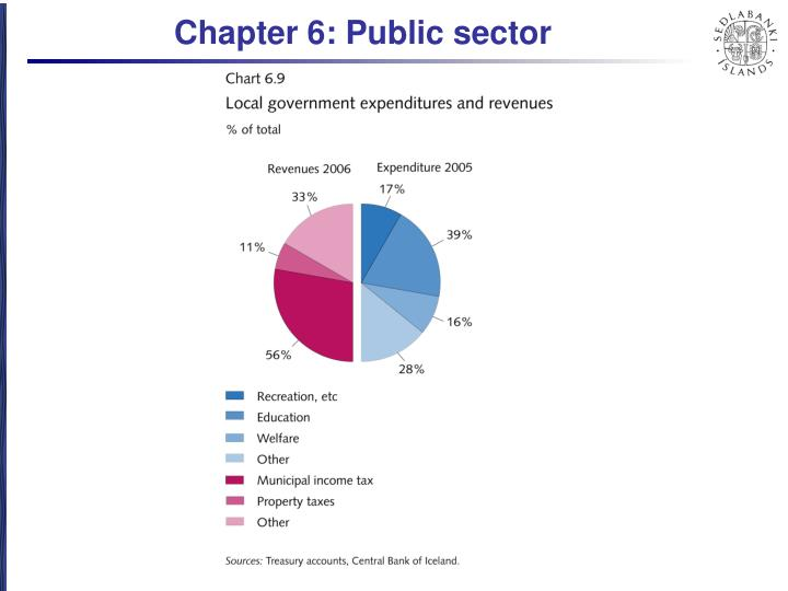 Chapter 6: Public sector