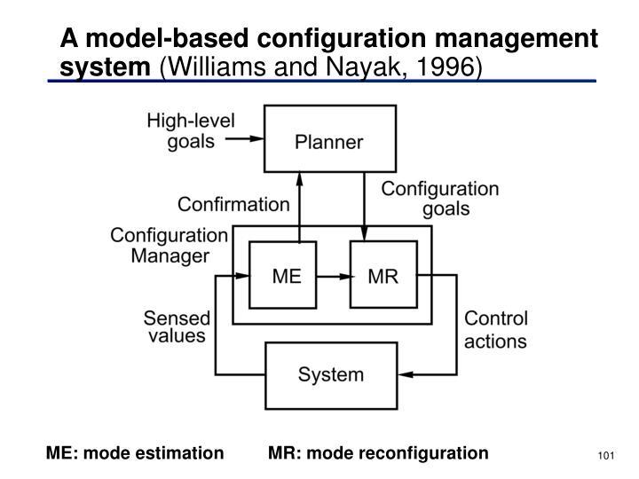 A model-based configuration management system
