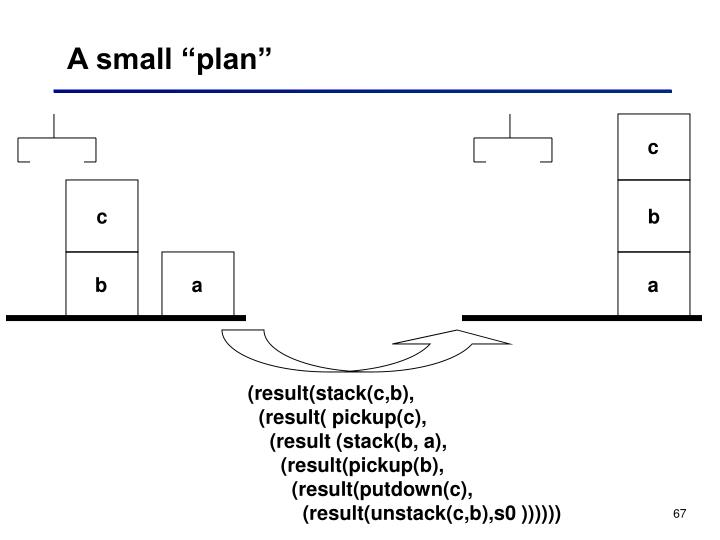 """A small """"plan"""""""