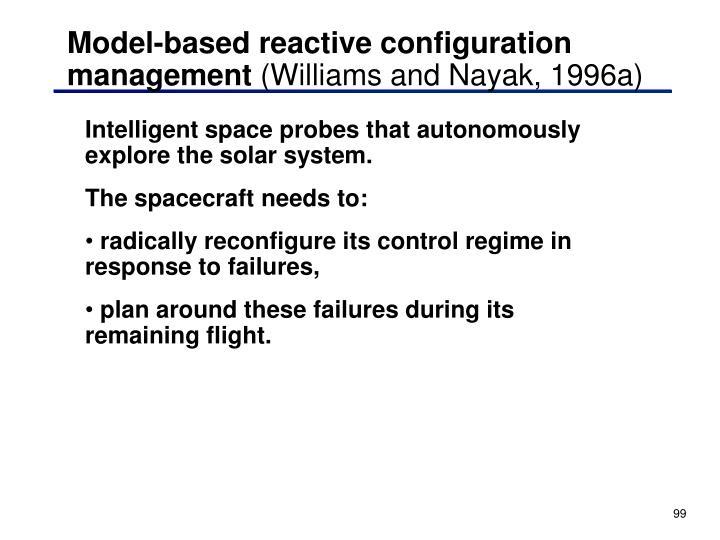 Model-based reactive configuration management