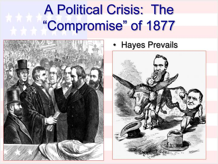 compromise of 1877 American history usa's central page for information about compromise of 1877.