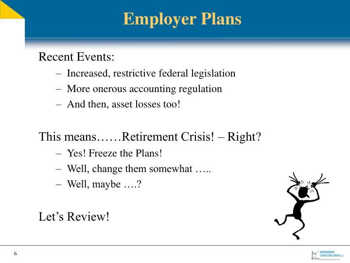 Employer Plans