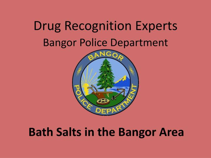 Drug Recognition Experts