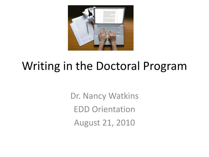 technical writing doctoral programs