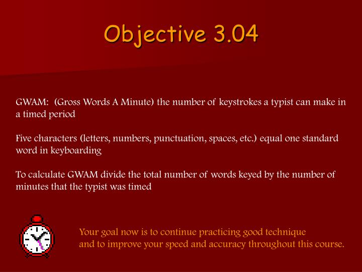 Objective 3.04