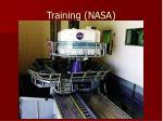 training nasa