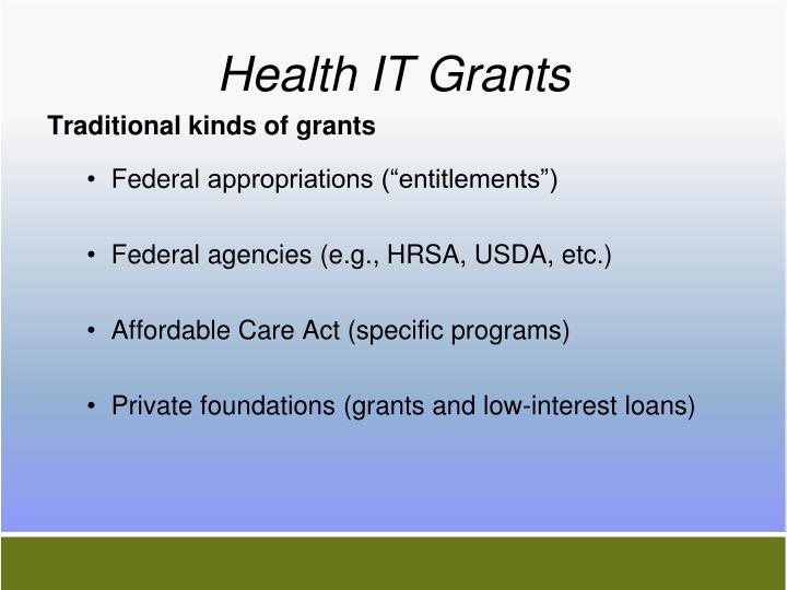 Health IT Grants
